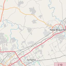 Interactive Map of Zipcodes in Bexar County Texas - January 2020