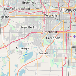 Zip Code Map Milwaukee Interactive Map of Zipcodes in Milwaukee County Wisconsin   May 2020