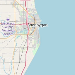 sheboygan zip code map Interactive Map Of Zipcodes In Sheboygan County Wisconsin July 2020