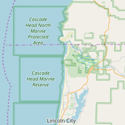 Lincoln City, Oregon ZIP Code Map - Updated January 2020 on map of grand rapids mi, map of cannon beach, map of florence, map of lewes, map of medford, map of pacific city, map of venice ca,