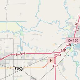 tracy ca zip code map Tracy California Zip Code Map Updated July 2020