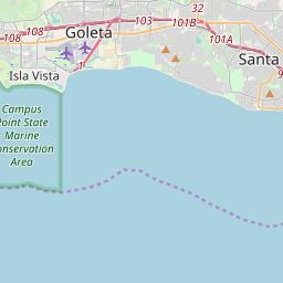 santa barbara ca zip code map Santa Barbara California Zip Code Map Updated July 2020