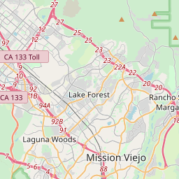lake forest california map Lake Forest California Zip Code Map Updated July 2020 lake forest california map