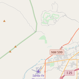 Santa Fe New Mexico Zip Code Map Updated July 2020
