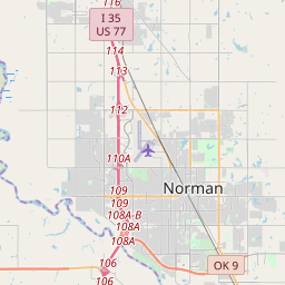 Norman, Oklahoma ZIP Code Map - Updated January 2020