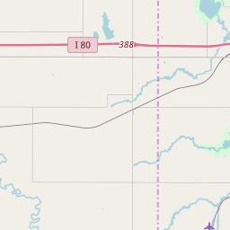 Crete Nebraska Zip Code Map Updated January 2020