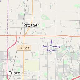 Frisco Texas Zip Code Map Updated July 2020