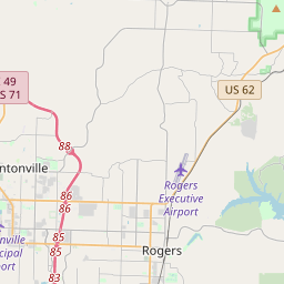 rogers arkansas zip code map Rogers Arkansas Zip Code Map Updated July 2020 rogers arkansas zip code map
