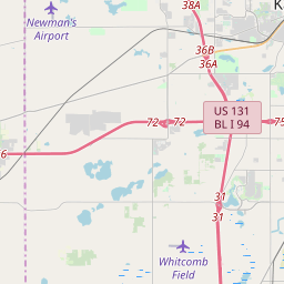 Kalamazoo Zip Code Map Kalamazoo, Michigan ZIP Code Map   Updated May 2020