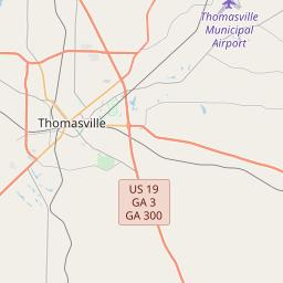 thomasville ga zip code map Thomasville Georgia Zip Code Map Updated July 2020