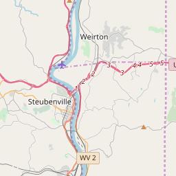 steubenville oh zip code map Steubenville Ohio Zip Code Map Updated July 2020