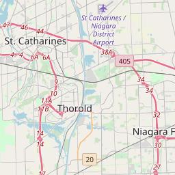 Niagara Falls New York Zip Code Map Updated January 2020