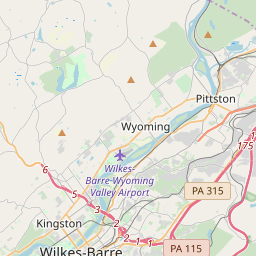 Wilkes-Barre, Pennsylvania ZIP Code Map - Updated January 2020 on map of western pa, map of main line pa, map of scranton pa, map of northwestern pa, map of northeast pa, map of carbon county pa, map of madison pa, map of newtown pa, map of south central pa, map of pittsburgh pa, map of chambersburg pa, map of erie pa, map of atlantic coastal plain pa, map of luzerne county pa, map of battle of brandywine pa, map of dutch country pa, map of endless mountains pa, map of york pa, map of berks county pa, map of philadelphia pa,