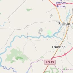 salisbury md zip code map Salisbury Maryland Zip Code Map Updated July 2020