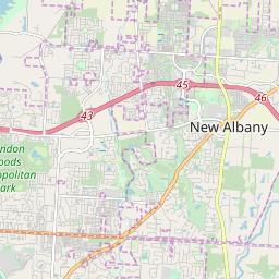 New Albany Ohio Zip Code Map Updated July 2020