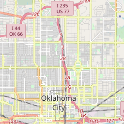 Forest Park, Oklahoma ZIP Code Map - Updated January 2020