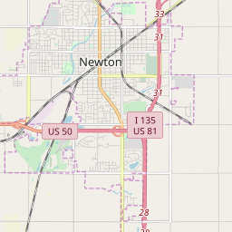 map of newton kansas Newton Kansas Hardiness Zones map of newton kansas