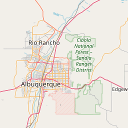 Albuquerque New Mexico Zip Code Map Updated July 2020