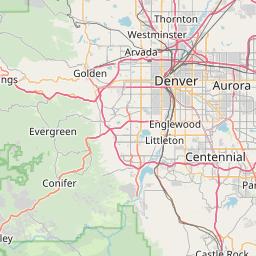 map of denver zip codes Denver Colorado Zip Code Map Updated July 2020 map of denver zip codes