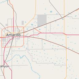 Amarillo Zip Code Map Amarillo, Texas ZIP Code Map   Updated May 2020