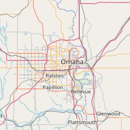 Omaha, Neska ZIP Code Map - Updated January 2020 on