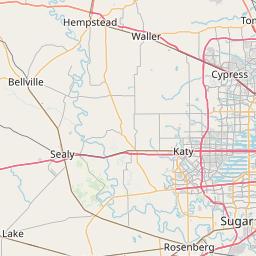 Houston, Texas ZIP Code Map - Updated January 2020