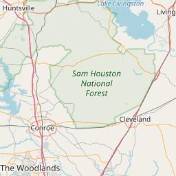 Houston, Texas ZIP Code Map - Updated December 2019