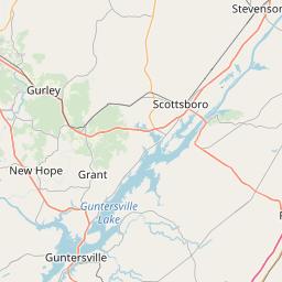 Huntsville, Alabama ZIP Code Map - Updated January 2020