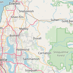 on zip code map seattle